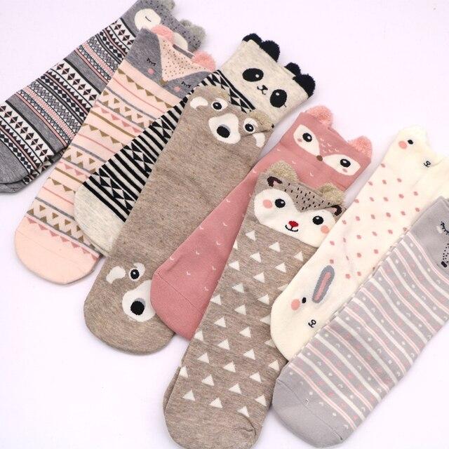 1 Pair Cotton Women Sock 2