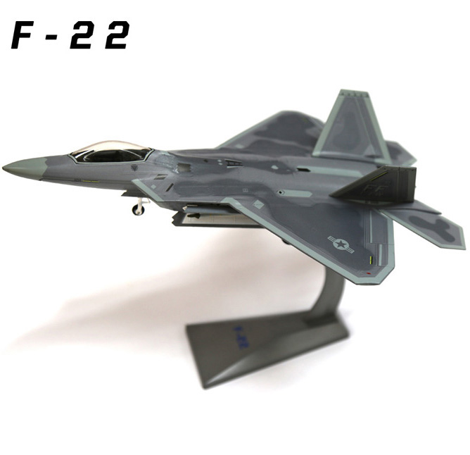 1:72 F-22 Raptor AF1 USA Air Force F22 Fighter Simulation Alloy Static Model For Adult Gifts Toy Collection force f k2463