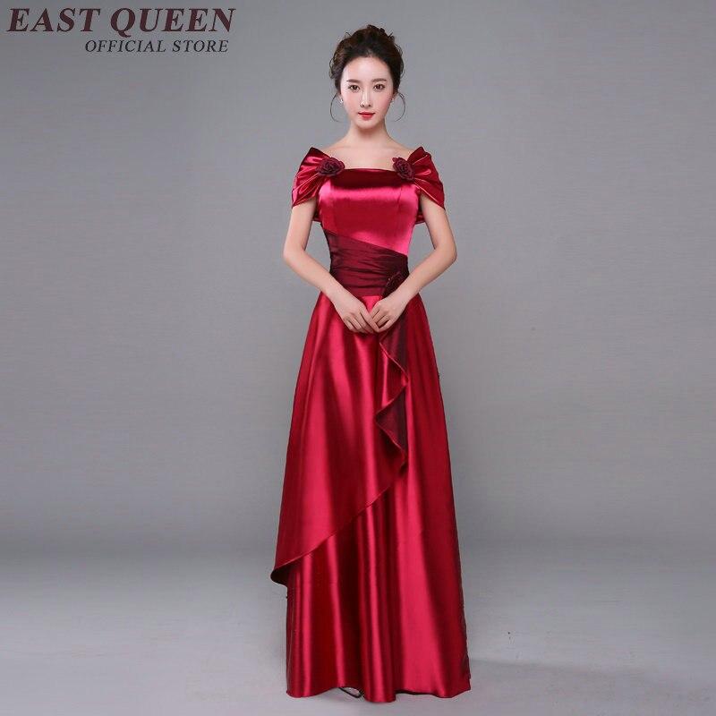 Lange abend party kleid oper leistung kleidung nationalen