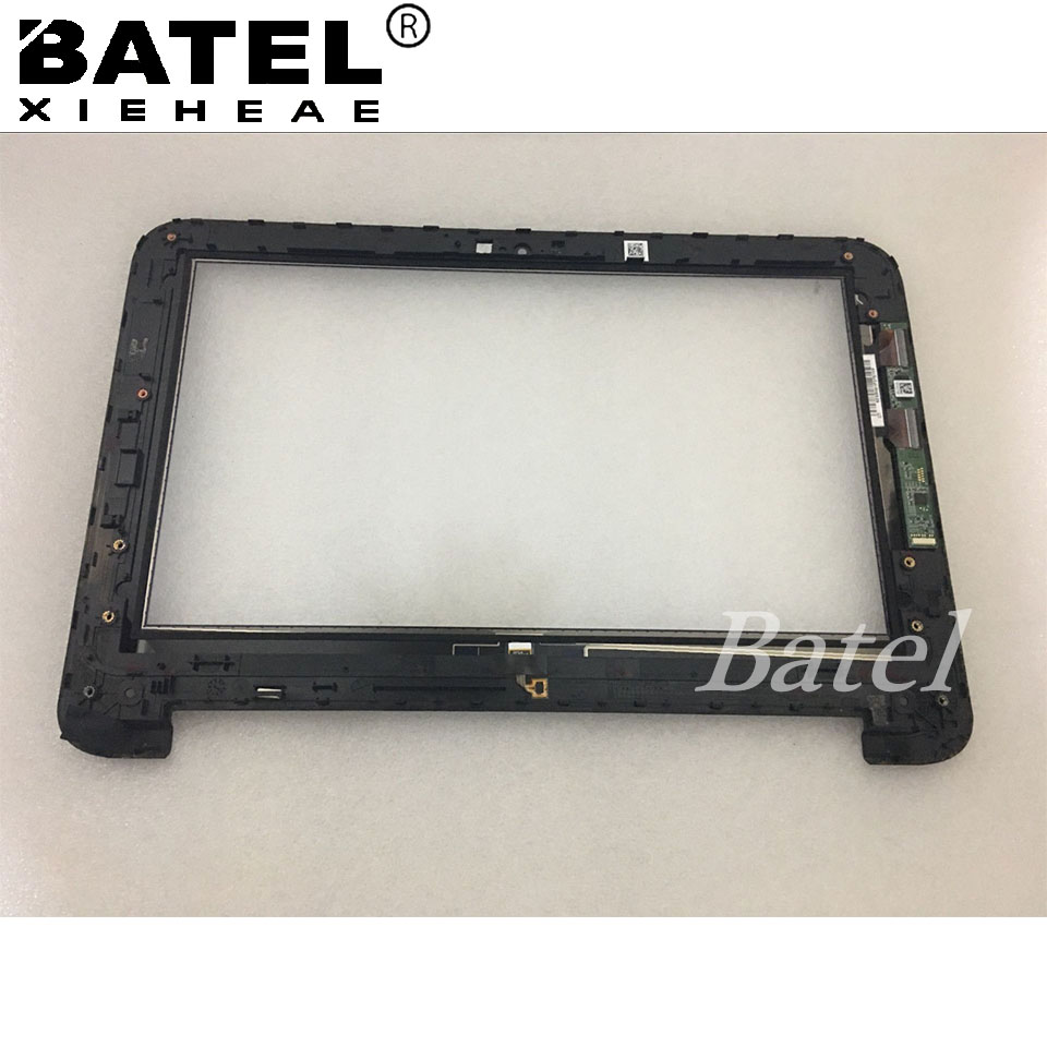New 11.6 For hp x360 touch screen  Digitizer with Bezel Frame for HP Pavilion 11 X360 11-N Series  Replacement new hot replacement power button board with ribbon for hp pavilion 15 n series