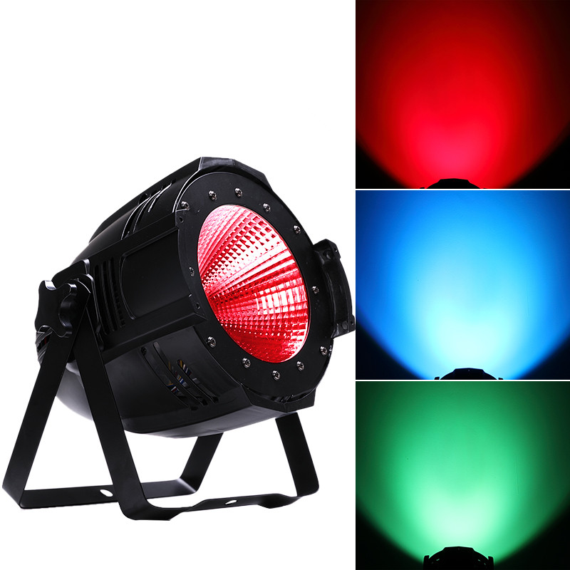 2 pcs LED COB Parcan 100W RGBW COB Par Light High Power Aluminium DJ DMX512 Led Beam Wash Strobe Effect Stage Lighting