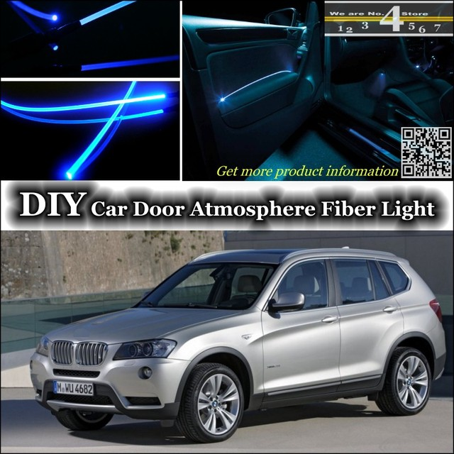 for bmw x3 e83 f25 interior ambient light tuning. Black Bedroom Furniture Sets. Home Design Ideas