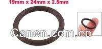 10 шт. фтор резина уплотнительное кольцо прокладки 24 мм х 19 мм х 2, 5 мм
