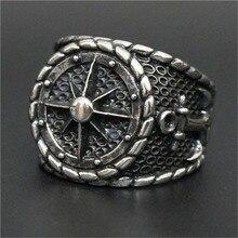 1 шт. новейшее персональное дизайнерское кольцо из нержавеющей стали 316L для мужчин и мальчиков, вечерние кольца в готическом стиле