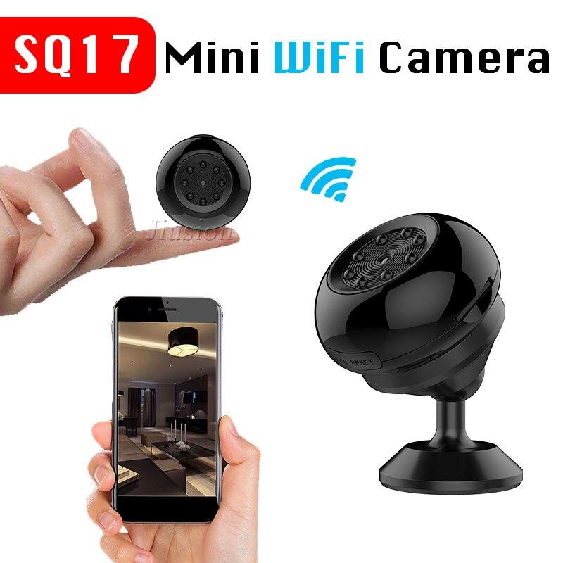 SQ17 4k WiFi Mini Камера Спорт HD 1080 P DV ИК Ночное Видение движения Сенсор тела Cam Digital Video голос Регистраторы микро видеокамера