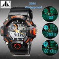 New 50m Waterproof Swimming Sports Watches Men Analog LED Digital Watch Multifunctional Quartz Watch for Men Women