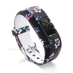 Image 3 - 24 цвета мягкий наручный браслет ремешок держатель для Garmin VivoFit Jr/для Garmin VivoFit JR 2 JR2 Junior трекер активности одежда