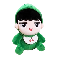 KPOP EXO Oh Se Hun Green Animal 22cm/8inch Plush Toy Stuffed Doll Fans Goods Handmade Gift Collection