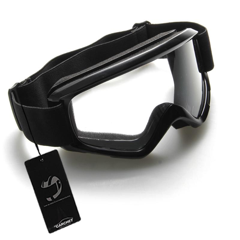 Black Motocross Motorcycle Enduro Off-Road Hemlet Windproof Glasses Goggles