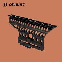 Ohhunt Тактический Быстрый Отсоединяемый рейку B-13 классический AK прицел базовый кронштейн Пикатинни Вивер рейка для охоты прицел