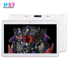 Free shipping 2016 Newest  tablet pc 10.1 inch Octa core android 5.1 Ram 4GB 64G A106 Dual Camera Dual SIM 1366*768 IPS  10 7