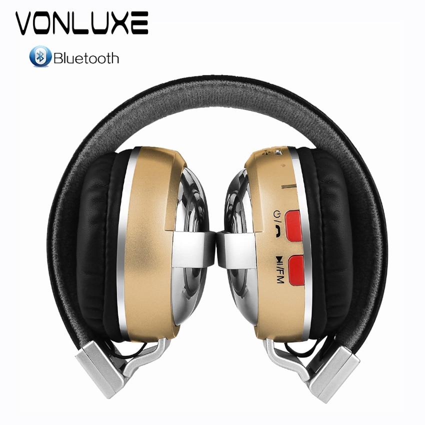 ФОТО Wireless Bluetooth Headphone headset  Foldable Headphones Bluetooth earphone with Microphone for Smart Phone