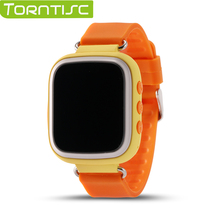 TORNTISC Kids Safe Smart Watch Q80 Touch Screen Support SOS WIFI Call Location Device Tracker Anti