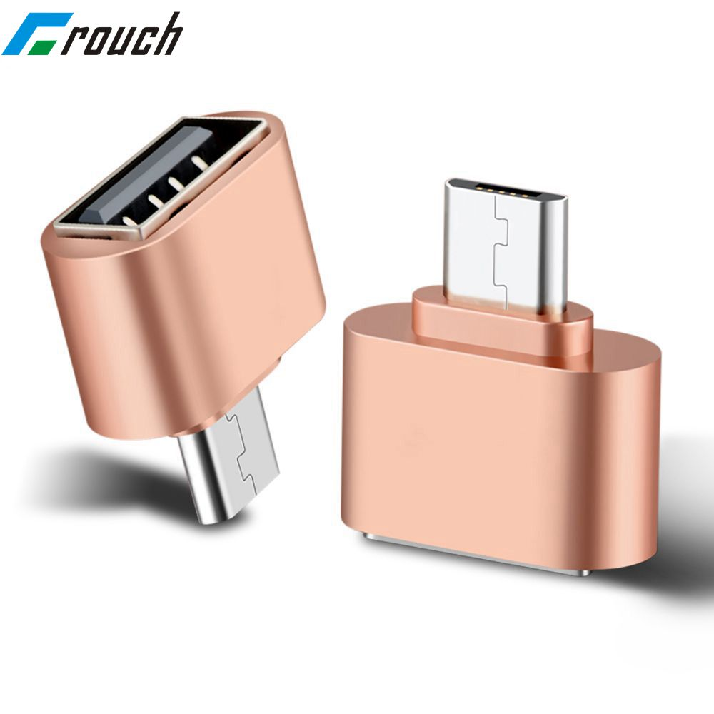 Crouch Micro USB OTG Cable Adapter 2.0 Converter For Mobile Phone Android For Samsung USB Tablet Pc To Flash Drive Mouse OTG Hub