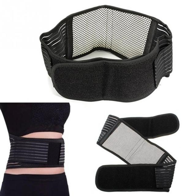 Fitness Protection Belts Tourmaline Self-heating Magnetic Therapy Waist Belt Lumbar Back Waist Support Brace Banded Lumbar