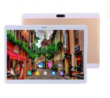 2017 Nuevo 10.1 pulgadas Tablet Octa Core Tablet PC 4 GB RAM 32 GB ROM Dual Tarjetas SIM Android 7.0 GPS 3G 4G LTE Tablet PC 10 + Regalos