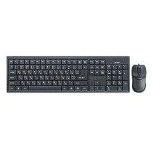 Набор клавиатура+мышь SVEN Standard 310 Combo USB чёрный (106+3кл, 800DPI)