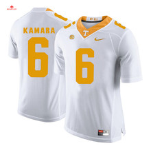 6a5fb5b705e ... Jersey Nike 2017 Uconn Tennessee Alvin Kamara 6 White Can Customized  Any Name Any Logo Limited Ice ...