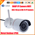 1.3MP 960P Outdoor Waterproof Bullet Surveillance Video IP Camera Wireless 960P ONVIF Wifi 802.11b/g/n IP Camera IP66 ONVIF