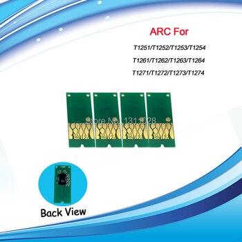 T1261-T1264 Compatible auto reset chip ARC for Epson Stylus NX430 NX330 WF-3520/3540 630 635 60 840 545 645 845 520,1 SETS фото