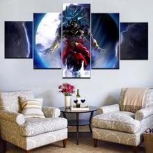 5Panel HD Printed The boss of DRAGON BALL Stripfiguren op canvas Art Painting Voor thuis woonkamer decoratie