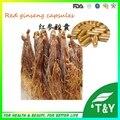 Famosa planta extrato de Ginseng vermelho coreano extrato cápsulas de 500 mg * 100 pcs/Bag