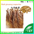 famous plant extract korean red Ginseng extract capsules 500mg*100pcs/Bag