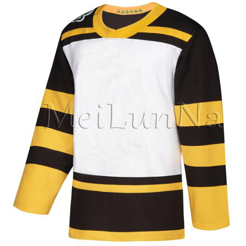 Custom Men David Backes Patrice Bergeron David Pastrnak Zdeno Chara Tuukka Rask Brad Marchand Hockey 2019