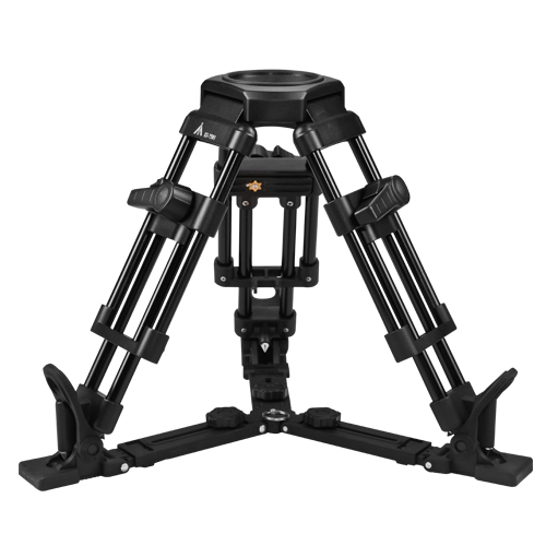 E IMAGE EI7502 Aluminum Legs Professional Video Camera Pan 100mm Bowl Short Tripod Load 85KG for