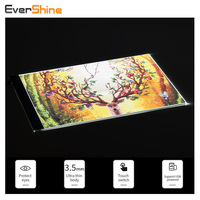 EverShine Dimmable A4 LED Copy Board Diamond Embroidery Light Tablet Ultra Thin Diamond Painting Cross Stitch