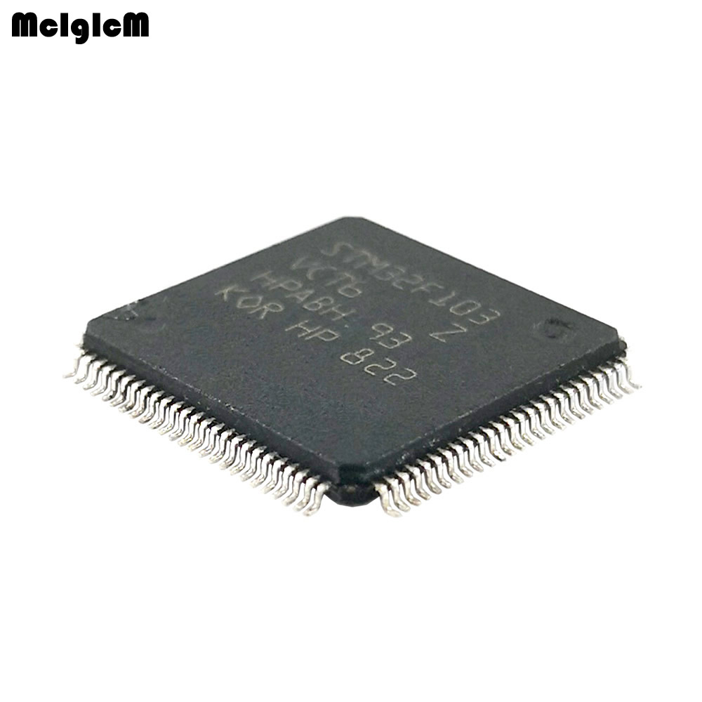 50 pz/lotto Nuovo Originale STM32F103VCT6 STM32F103VC STM32F103 LQFP100 32-bit microcontroller 256 K flash50 pz/lotto Nuovo Originale STM32F103VCT6 STM32F103VC STM32F103 LQFP100 32-bit microcontroller 256 K flash