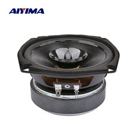 AIYIMA 5 Inch Audio Midrange Portable Speaker 4 Ohm 40 W 25 Core Multimedia Bookshelf Loudspeaker DIY Speaker For Sound System
