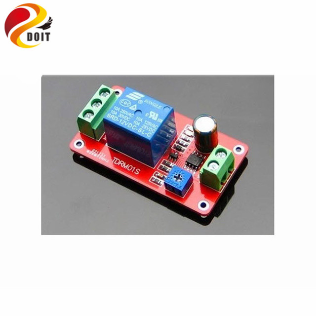 DOIT Time Delay Relay Module Electrical Switch On/Off 5V 12V Robot ...