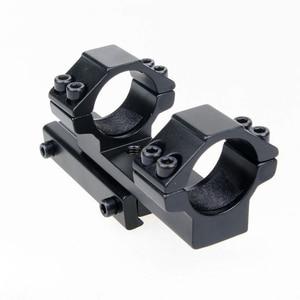 Image 5 - נפרד הר 25.4mm/30mm טבעת הר להשתלב 11mm Rail יבר הר Fit עבור רובה/היקף ציד משלוח חינם