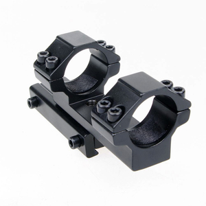 Image 5 - Integral Mount 25.4mm/30mm Ring Mount Dovetail 11mm Rail Weaver Mount Fit for Rifle/Scope Hunting Free Shipping
