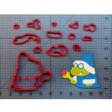 Video Game Character Super Mario Cookie Cutter Custom Made 3D Printed Fondant Set Molds for cortadores de