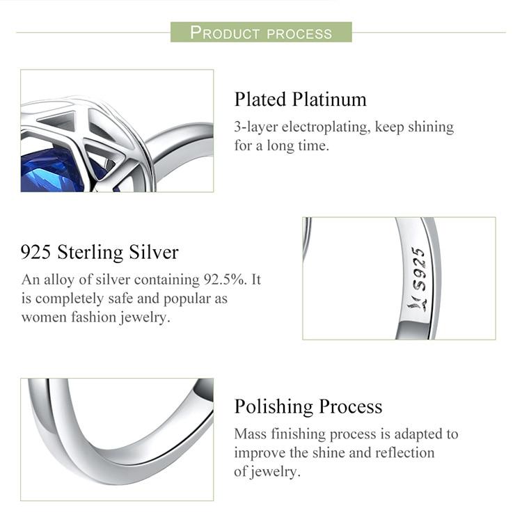 wedding sterling silver rings
