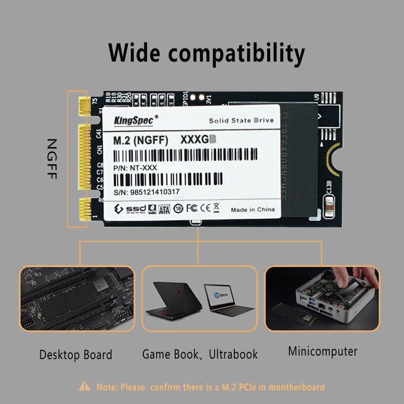 22x42mm marke kingspec 64GB 128GB 256gb 512gb solid state festplatte NGFF M.2 ssd interface flash speicher MLC für laptop ultrabook