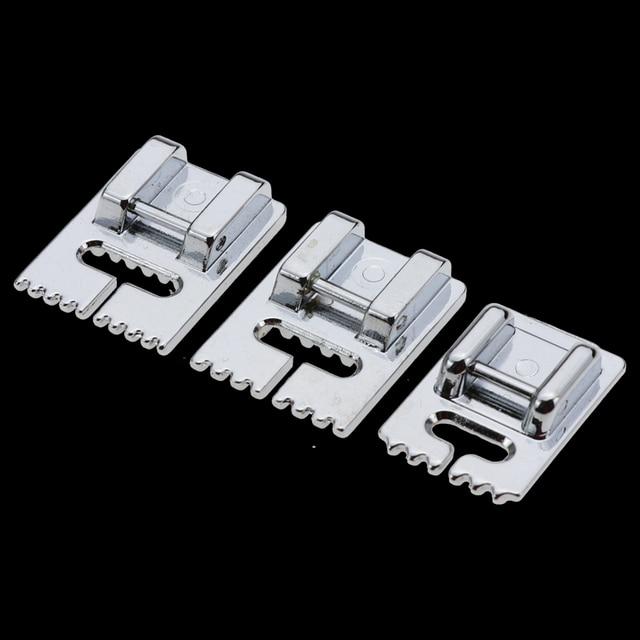 701-5 7 9 טאקר פרסר רגל תפירה ביתית מכונה חלקי Pintuck רגל 5 חריצים פרסר רגל