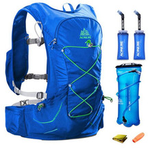 AONIJIE 15L Hydration Backpack Outdoor Running Trail Racing Hiking Marathon Rucksack 3L Water Bag For Men Women