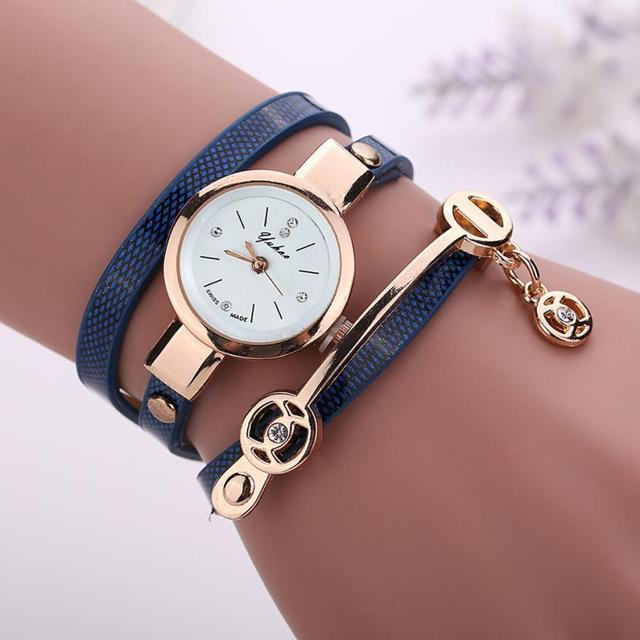 Zegarek damski bransoletka minimalistyczny modny różne kolory