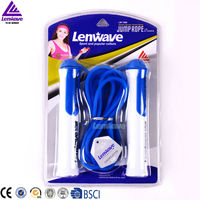 Men's rope 4 color and 3 meters PVC material &China Top Brand Lenwave company new jump rope