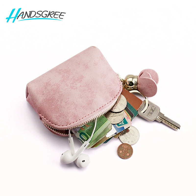 Women Coin Purse Girls Cute Fashion Ladies Kids Mini Wallet Bag Change Pouch Key Holder Leather Small Money Bag High Quality