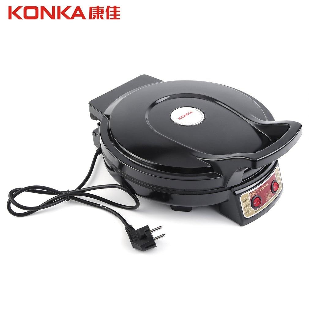 KONKA Electric Griddle & Backer Dual-side Heating Baking Pan Frying Machine for Household Kitchen Use KBP-3201 konka electric griddle