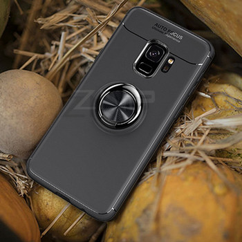 Magnetic Ring Stand Case Galaxy S9 Slim Drop Protection Cover Holder Stand 3