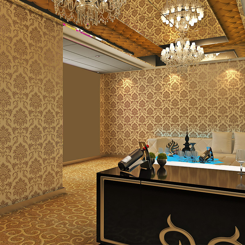 beibehang pvc wallpaper Engineering Hotel Continental Damascus living room bedroom wallpaper engineering tooling wallpaper randolph engineering af5r632