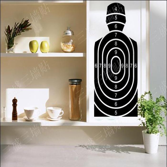 2016 vinilos paredes target wall decals black target. Black Bedroom Furniture Sets. Home Design Ideas