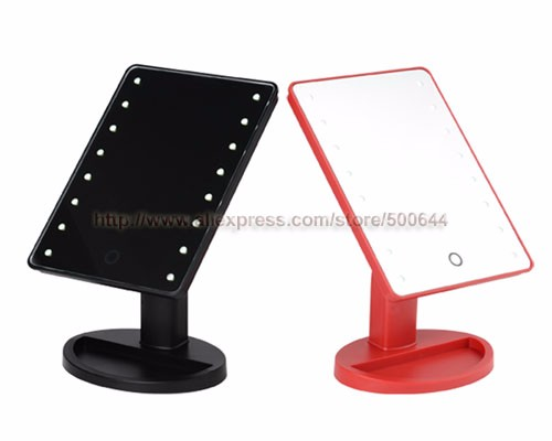 Professional Smart Touch Sensor 16 Led Makeup Mirror Table Single Side Cosmetic Mirror Free Shipping Mirror Table Mirror Mirrorsensor Sensor Aliexpress
