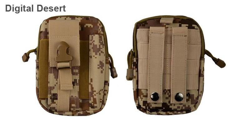 Uniwersalny Odkryty Wojskowy Molle Tactical Kabura Pasa Biodrowego Pasa Torba portfel kieszonki kiesy telefon etui z zamkiem błyskawicznym na iphone 7/lg 24