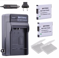 NB 11L NB 11LH Ultra High Capacity 900mAh Battery Wall Charger For Canon PowerShot A2300 IS